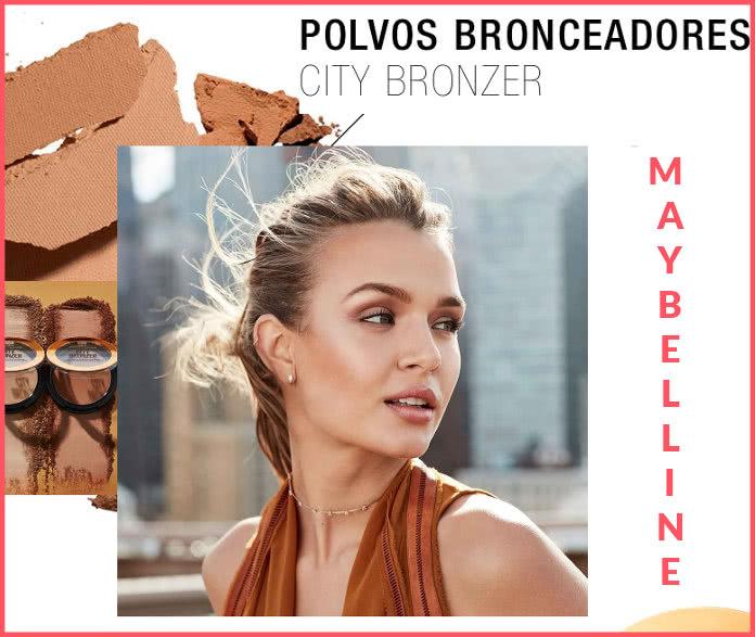 Maybelline Mini máscara de pestañas a recoger y nuevo Make up tester de polvos bronceadores