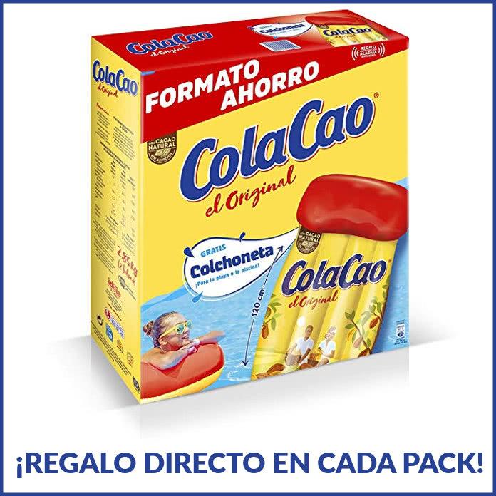 Consigue de regalo la colchoneta de ColaCao ¡¡hay más de medio millón!!