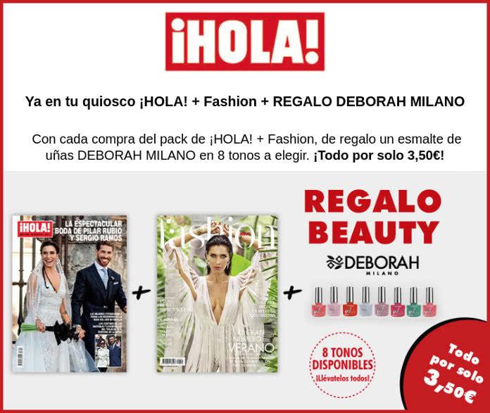 Regalo de la revista Hola de esta semana: Laca de uñas Deborah Milano