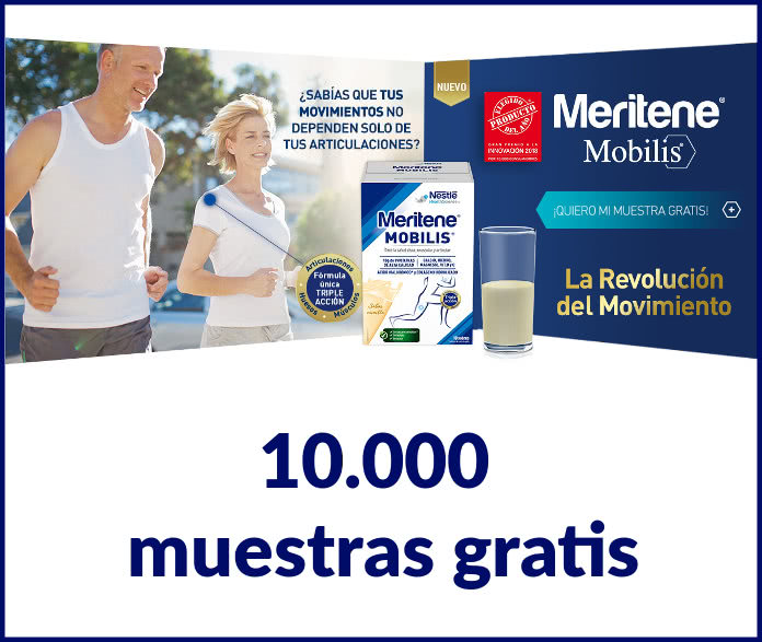 10.000 muestras gratis de Meritene Mobilis a domicilio