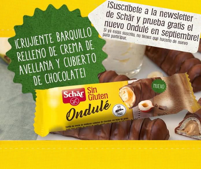 Prueba gratis el delicioso barquillo de chocolate de Schär