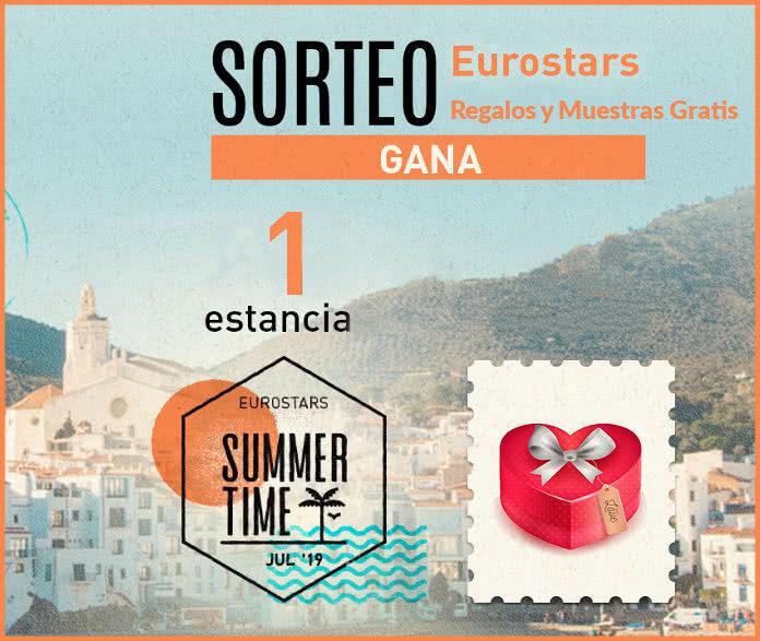Sorteo exclusivo de Eurostars para los usuarios de Regalos y Muestras Gratis