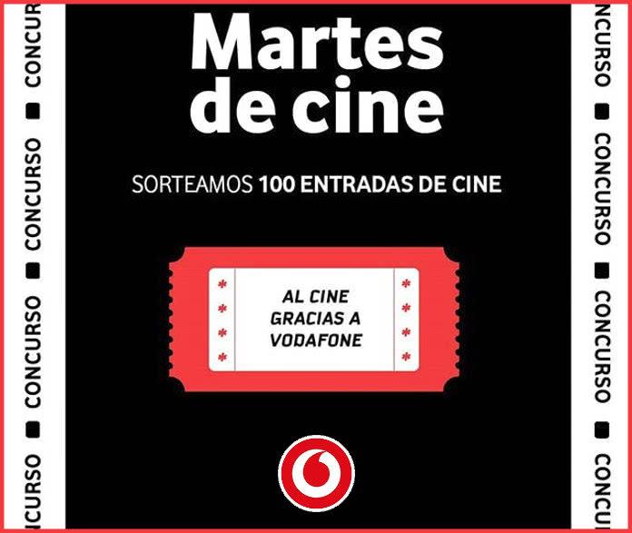 Sólo hoy: Vodafone sortea 100 entradas de cine