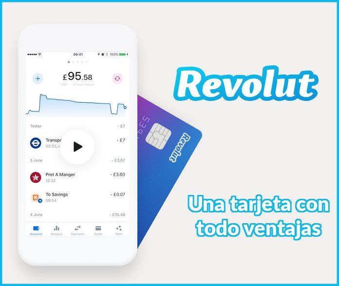 Pide gratis la tarjeta Revolut y llévate 10€ gratis