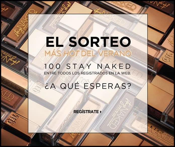 Urban Decay sortea 100 Stay Naked