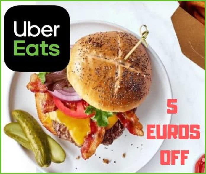 Descuentos de Uber Eats para hoy
