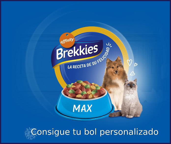 Brekkies regala 3.500 Bols personalizados a los primeros en solicitarlos
