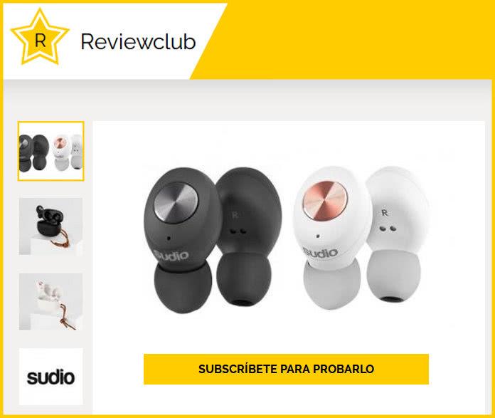 Prueba gratis los auriculares Sudio Tolv con ReviewClub