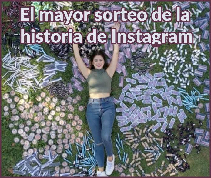 Lucía Bellido y varias marcas sortean 10.000 productos para 100 afortunados