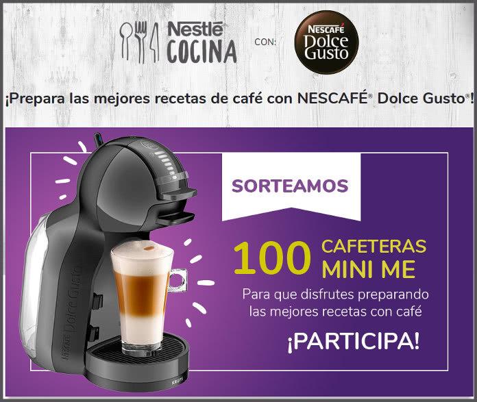 Nescafé Dolce Gusto sortea cien cafeteras MiniMe