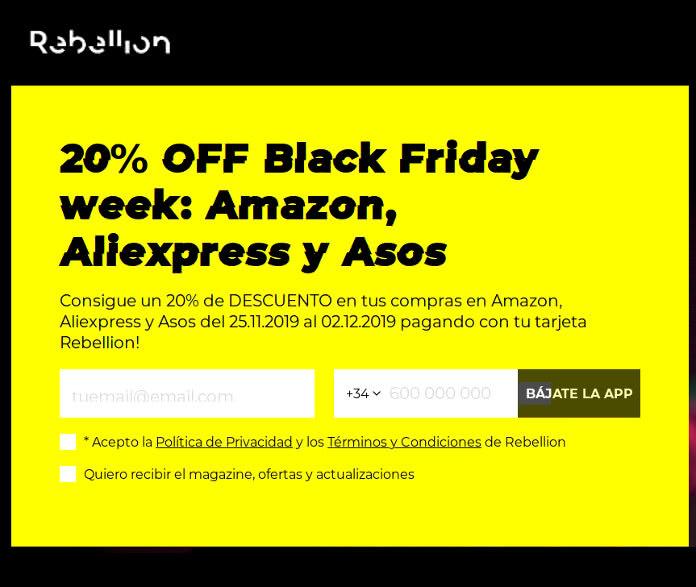 Regalo de 15€ para Amazon, ASOS y/o Aliexpress