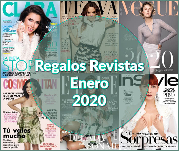 Regalos Revistas Enero 2020