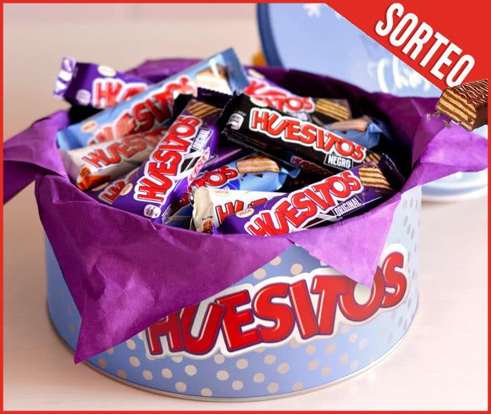 Huesitos sortea cajas de aluminio repletas de chocolatinas