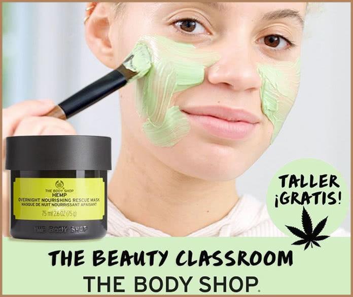 Prueba gratis las mascarillas de noche de Cáñamo en The Body Shop