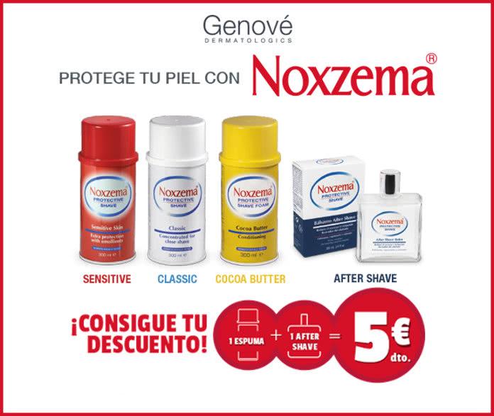 Consigue 5€ de reembolso al comprar Noxzema