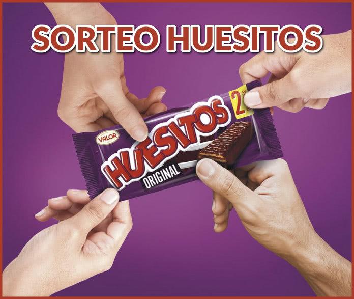 Chocolates Valor sortea 9 lotes de 20 Huesitos