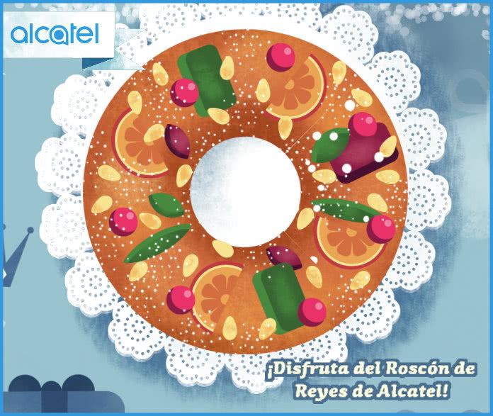 Gana Móviles y tablets en el Roscón de Reyes de Alcatel