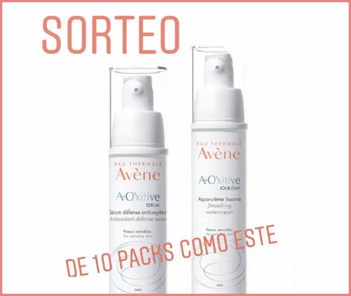 Belleza Activa sortea 10 packs de productos A-Oxitive