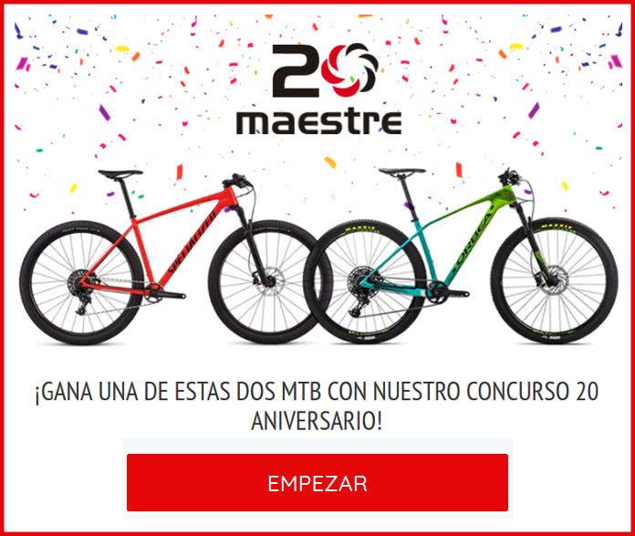 Maestre Bikes sortea 2 Mountain Bikes