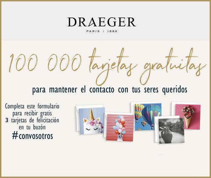 draeger regala -100000-tarjetas-gratuitas