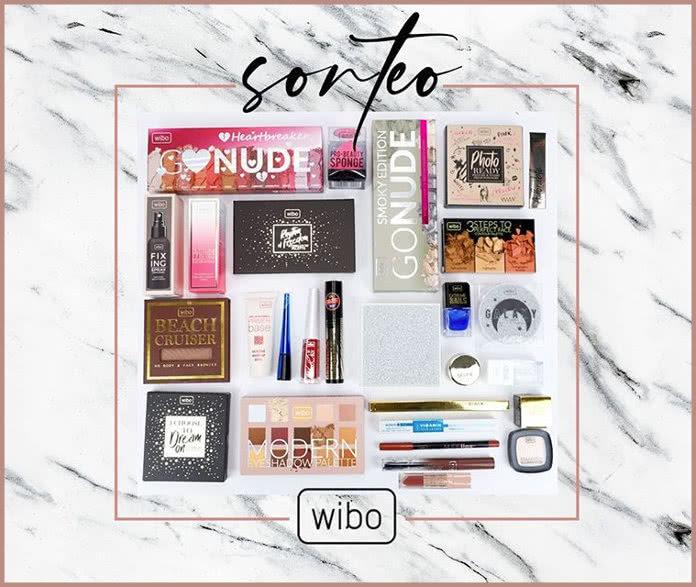 Primor sortea un lote con 30 productos de la marca WIBO