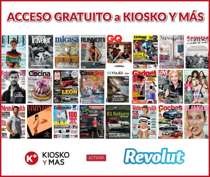 Acceso Gratuito a Kiosko y Más durante un mes