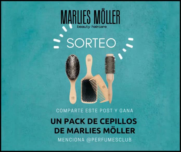 Perfumes Club sortea un pack de cepillos de Marlies Moller