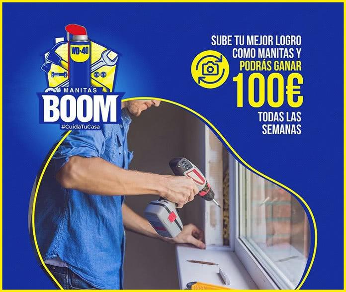 WD-40 sortea semanalmente tarjetas regalo Click&Gift de 100€