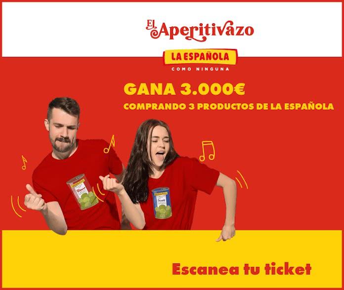 La Española sortea 3.000€ cada mes