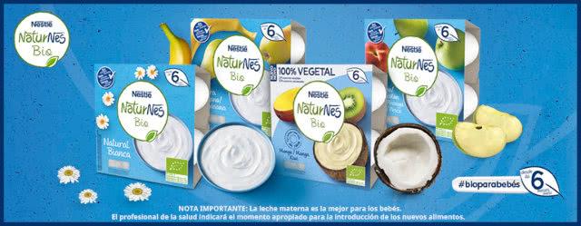 600 Probadores Lácteos Naturnes Club Nestlé Bebé