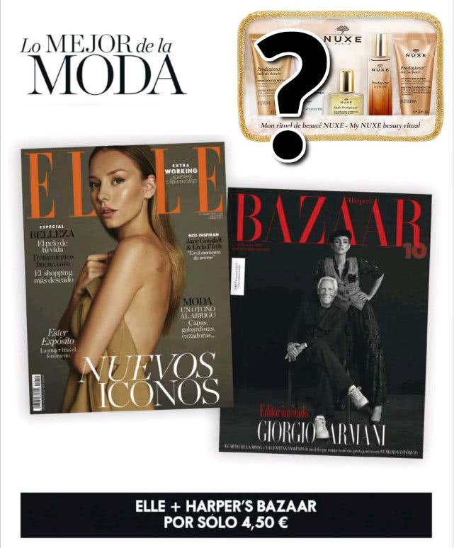 Avance Regalos Revistas Noviembre 2020 Elle