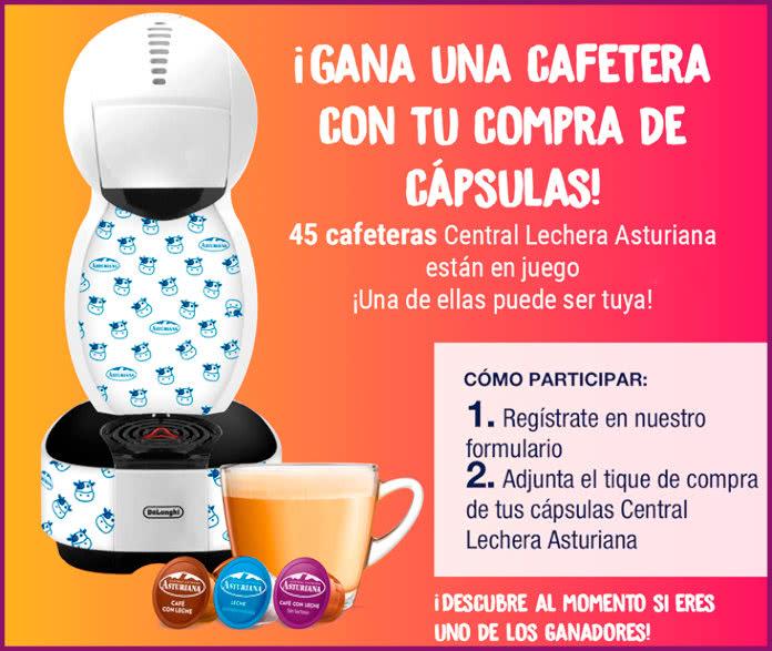Central Lechera Asturiana Sorteo 45 Cafeteras