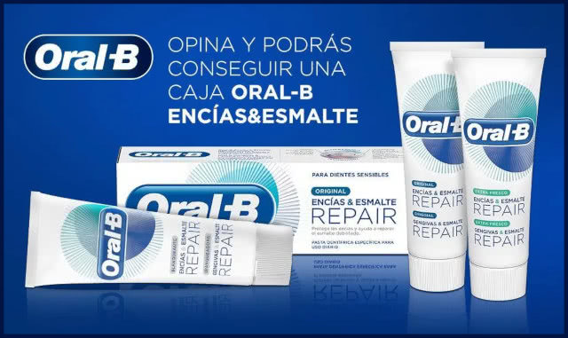 Oral B Sorteo 50 Premios Packs