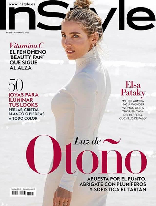 Portada Revista Instyle Noviembre 2020