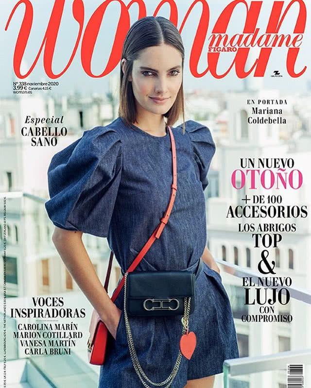 Portada Revista Woman Noviembre 2020