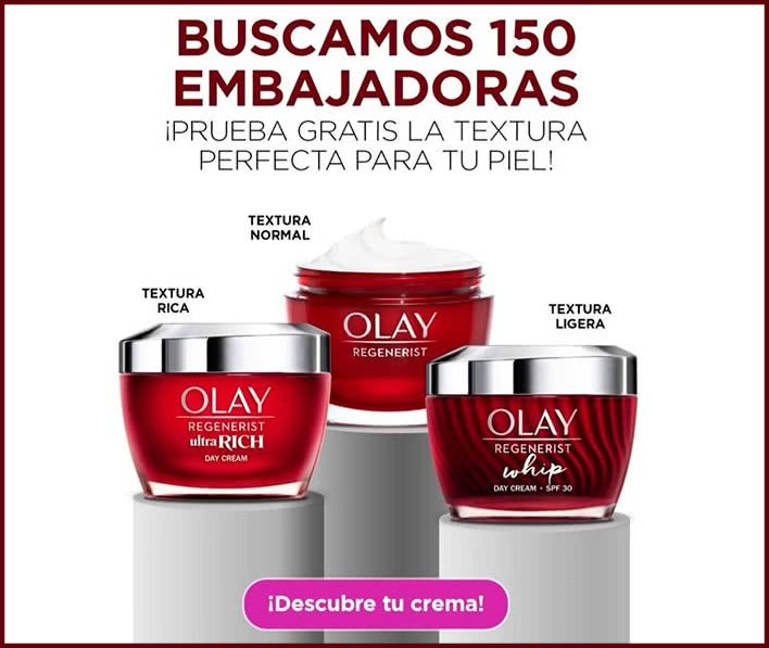 Próxima a ti, Olay busca a 150 Embajadoras