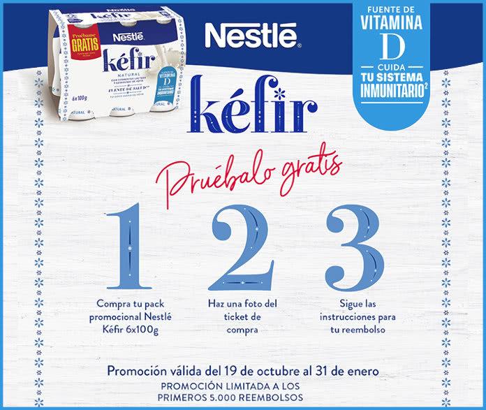 Prueba Gratis Nestle Kefir