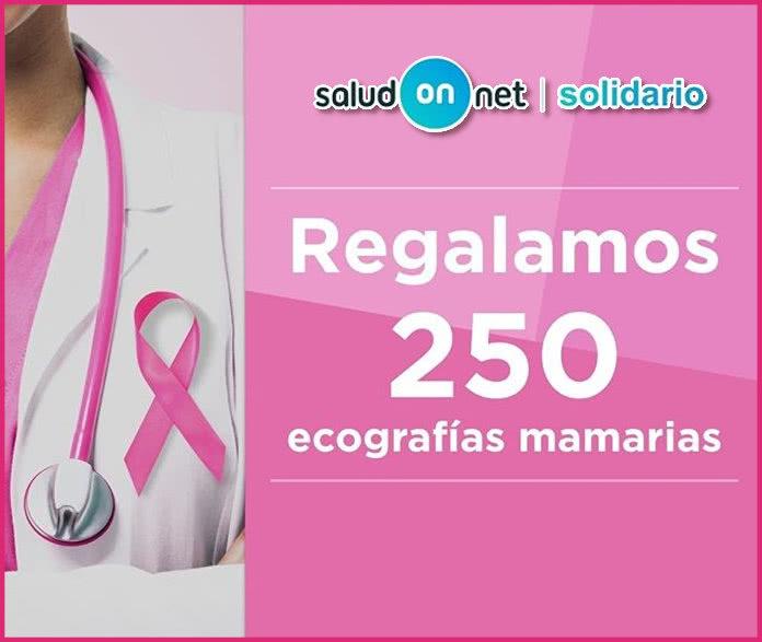 Saludonnet Regalo 250 Mamografias