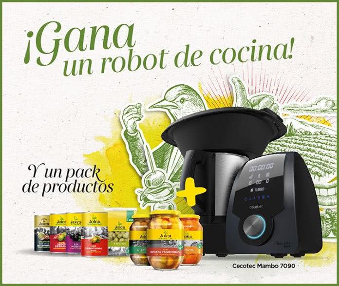 Sorteo Aceitunas Jolca Robot Cocina