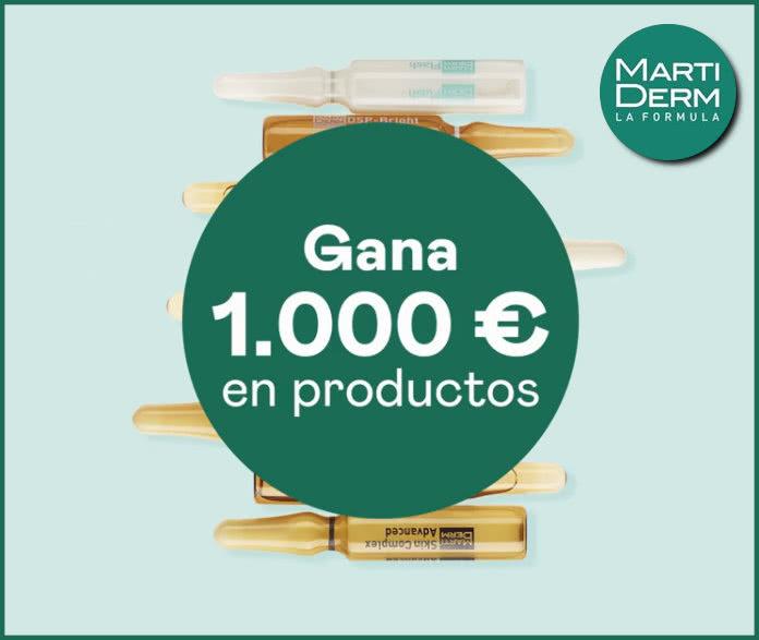Sorteo Martiderm 1000 Euros
