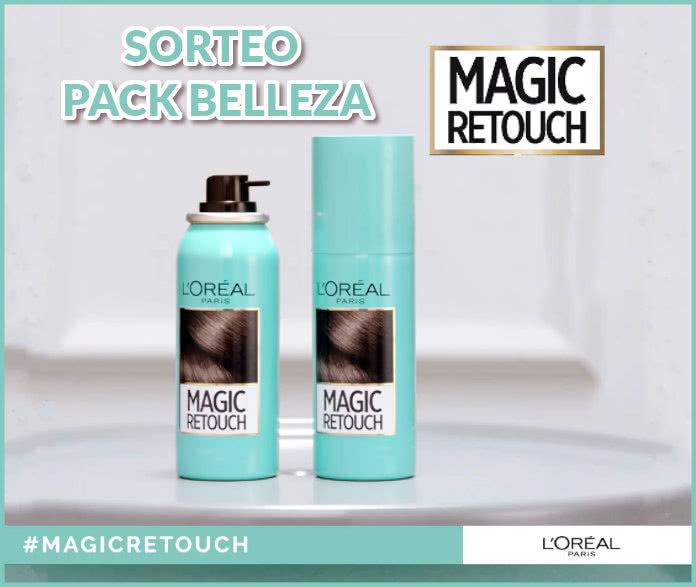 Sorteo Pack Belleza Loreal Magick Retouch