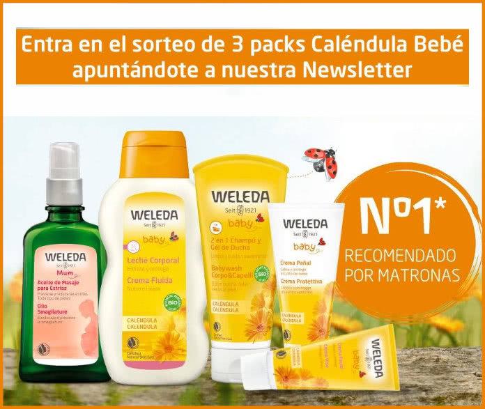 Sorteo Weleda + Mi bebé y yo de 3 Packs