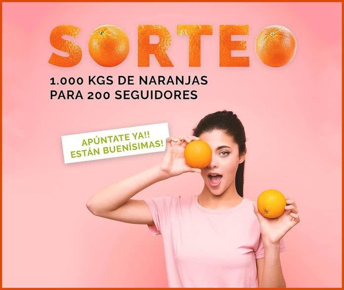 Corporis Sanum Sorteo 1000 Kg Naranjas Frutamare
