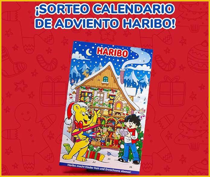 Haribo Sorteo Calendario Adviento