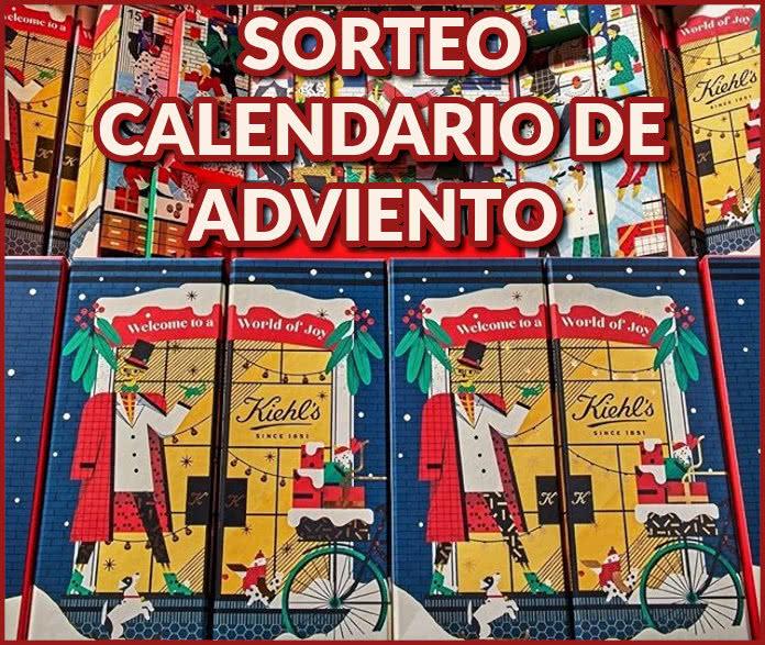 Kiehls Sorteo Calendario Adviento