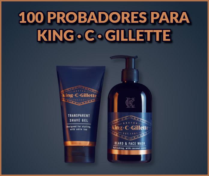Kuvut Busca 100 Testers Para Gillette King C