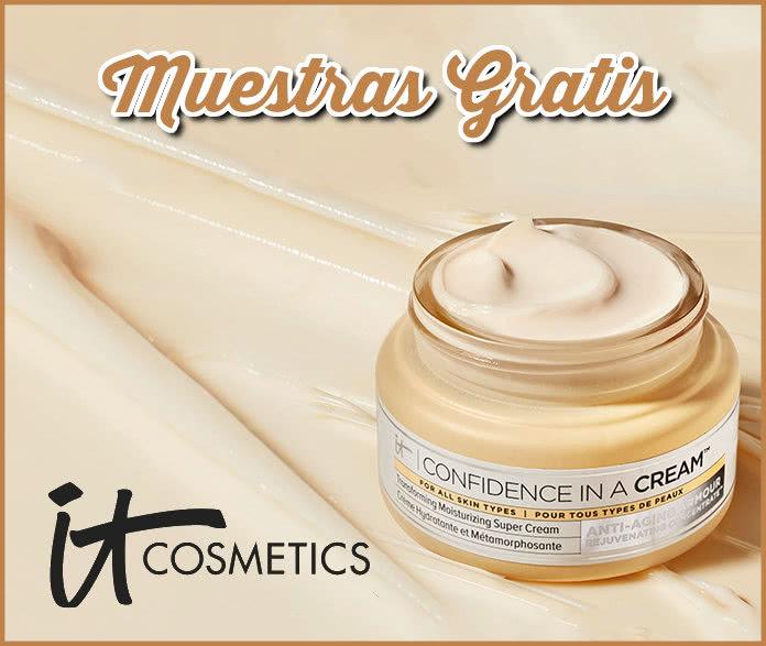 Muestras Gratis It Cosmetics Conrfidence In A Cream