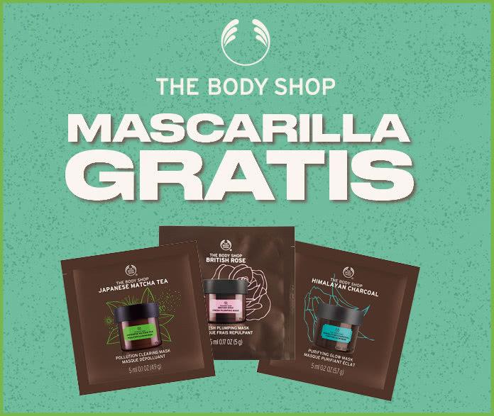 Muestras Gratis Mascarillas The Body Shop