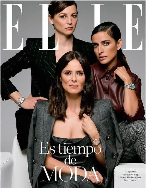 Portada Revista Elle Diciembre 2020