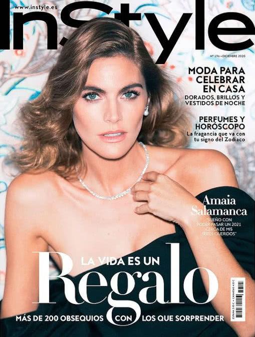 Portada Revista Instyle Diciembre 2020